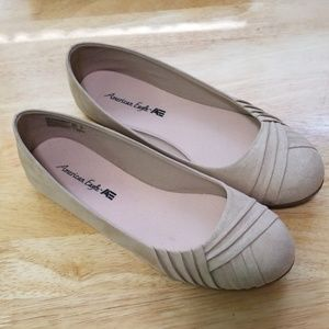 AE shoes - Nude Flats